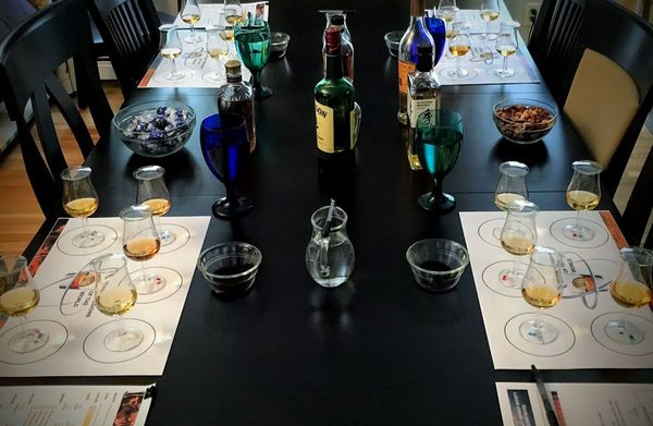 world of whisky table