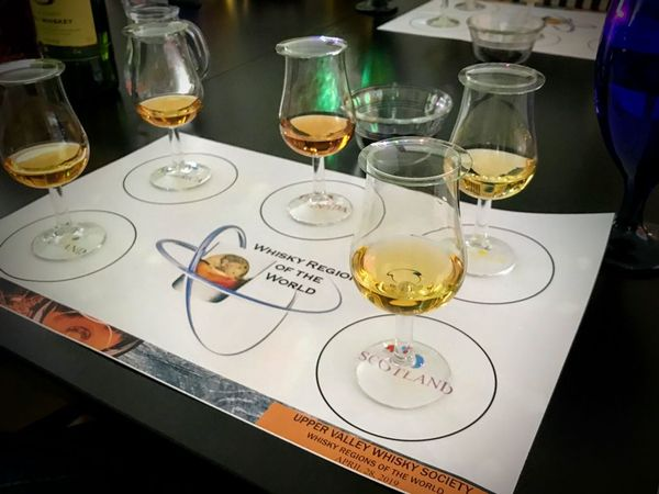 world of whisky place mat